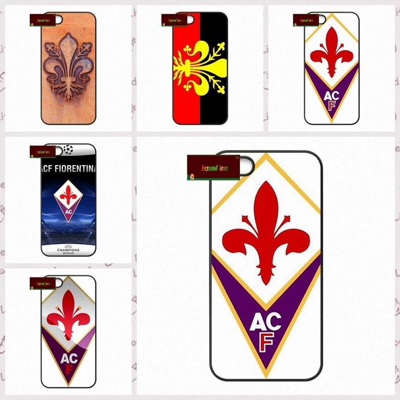 Fiorentina FC Logo Cover case for iphone 4 4s 5 5s 5c 6 6s plus samsung galaxy S3 S4 mini S5 S6 Note 2 3 4  DE0087