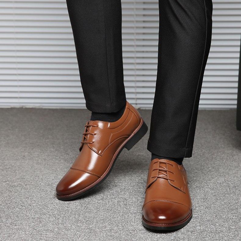 احذية جلدية رجالي لينة عالية الجودة  الحجم 39-48 10