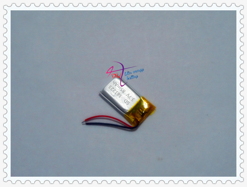 381223 lithium polymer battery 3.7V 85MAH<br><br>Aliexpress