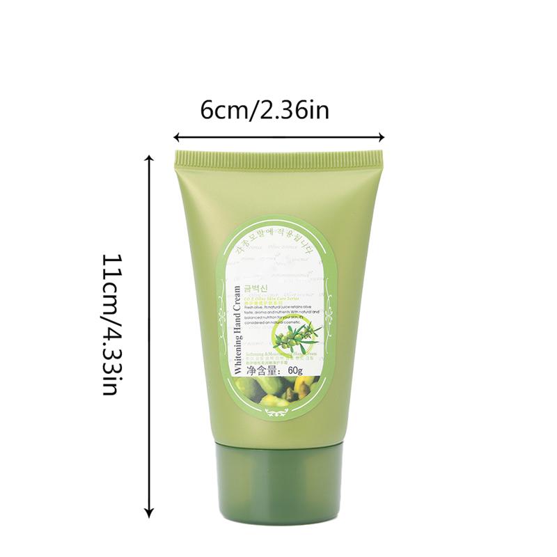 Olive Oil Hand Cream Care Nourishing Anti Chapping Anti Aging Whitening Firming Moisturizing body Skin Care Cream 6
