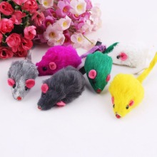 10Pcs/Lot Creative False Mouse Pet Cat Toys Cheap Mini Funny Playing Toys For Cats Kitten