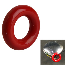 New Red Round Weight Power Swing Ring for Golf Clubs Warm up Metal & flexible glue Golf Training Aid EA14(China)