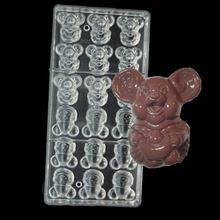 Happy Pig with ingots Shaped Polycarbonate PC Chocolate Mould Jelly Candy 3 D Tray PC Mold