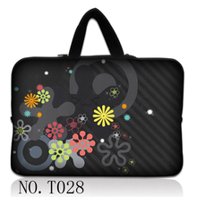 Flower Classic Custom Design Laptop Bag Sleeve Carry Case For 15'' Lenovo Toshiba HP Tablet PC(China)