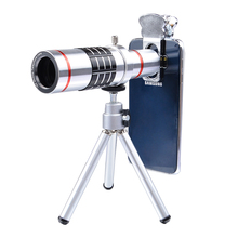 APEXEL universal 18x Optical Telescope Lens Mobile Telephoto zoom Lentes with Tripod for Samsung S8 iPhone 7  plus Xiaomi  LX18X