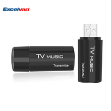 TS-BT35F05 Bluetooth Car FM Transmitter USB Stereo Audio 3.5mm AUX Input Music Dongle Adapter for TV MP3 PC Support A2DP(China)