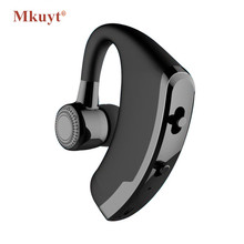 Buy Wireless Business Bluetooth Headset Mic Voice Control Handsfree Wireless Bluetooth Earphone Headphone Sports Music Earbud for $11.94 in AliExpress store