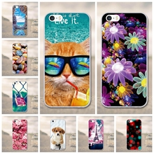 Phone Cases for iphone 5s se case Silikon for iphone 5 case cute Soft TPU Phone Cover For iPhone SE Case For iphone 5 5s Silicon(China)