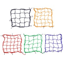 Car Motorcycle Luggage Net Storage Bag Helmet Rope Motor Net Twine Blue Yellow Red Black Green Motorycle Net Bags Mesh(China)