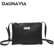 DAUNAVIA Women Handbags Designer Leather Women Messenger Bags Shoulder Bag Female Ladies Clutch Handbags(China)