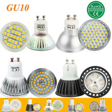 1pcs Super Bright 3W 4W 5W 6W 7W GU10 LED Bulb Spot Light Lamp 110V 220V Dimmable GU10 SMD 5050 2835 Lighting Warm Cold White(China)