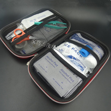 New 18pcs /Set First aid kit Emergency Earthquake kit Family Medical Bag Travel Survival Kit Waterproof  Car first aid kit bag