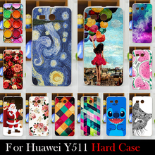 For Huawei Ascend Y511 Case Hard Plastic Cellphone Mask Case Protective Cover Housing Skin Mask Shipping Free