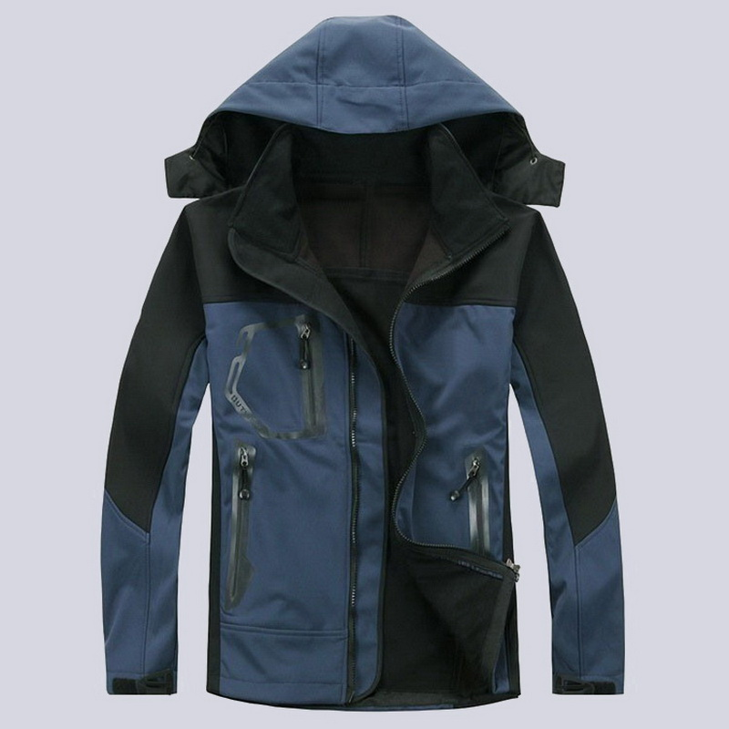 2017 Mens Winter Inner Fleece Thermal Softshell Jackets Outdoor  Sports Brand Coats Camping Trekking Hiking Male Jacket MA048<br><br>Aliexpress