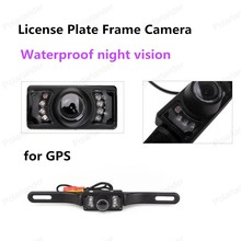 best selling 120 degree License Plate Frame Waterproof night vision Car Rear View Reversing Camera
