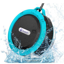 New C6 Bluetooth Speaker Portable Wireless Waterproof Shower Car Speakers Handsfree with Mic Cup Music Mini Boombox #87500