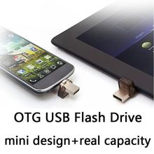 Geniune Ultra Dual Pendrive OTG USB 2.0 Flash Drive 8GB 16GB 32GB 64GB 128GB Mini Usb Stick Pen Drive 512GB Gift Smartphone
