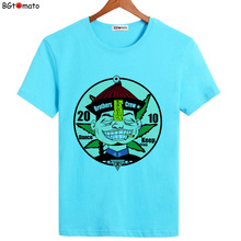 BGtomato New sytle cartoon T-shirts Hot sale men's lovely shirts original brand clothes good quality casual tops