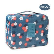 Women Man Makeup bag Zipper Cosmetic bag beauty Make Up Organizer Toiletry bag kits Storage Case Travel Wash pouch Neceser