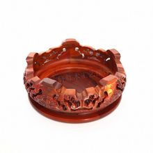 Household act the role ofing is tasted rosewood carving furnishing articles aquarium Buddha circular base solid wood crafts
