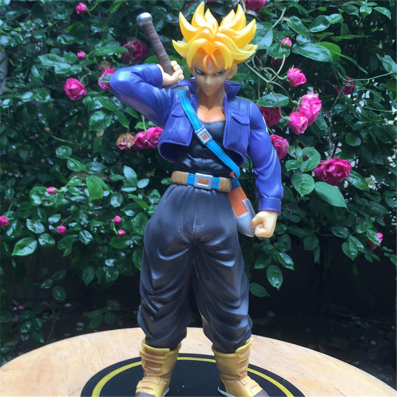 1pc/lot Figuarts Zero EX Dragon Ball Trunks Super Saiyan Big Size PVC Action Figure Collectible Model Toy Kids Toys 23cm<br><br>Aliexpress