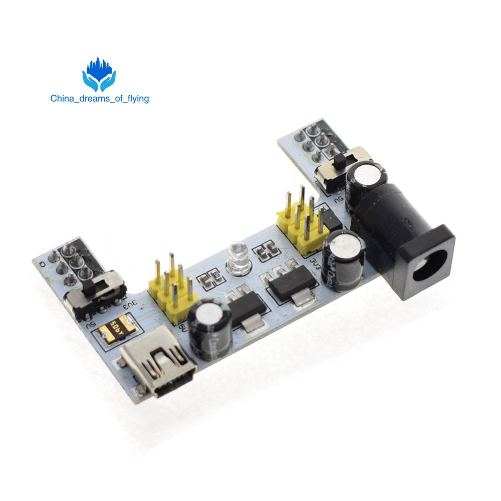 10 pcs MB102 Solderless Breadboard Power Supply Module 3.3V//5V
