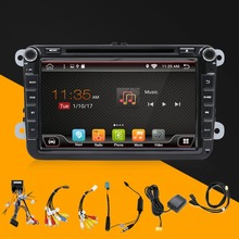 Android 6.0 for GOLF 5 Golf 6 POLO PASSAT CC JETTA TIGUAN TOURAN EOS 2 din 8 inch 1024*600 Wifi Radio Car dvd player GPS navigat(China)