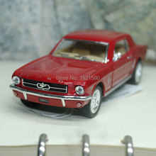 Brand New KT 1/36 Scale USA 1964 Ford MUSTANG Diecast Metal Pull Back Car Model Toy For Gift/Kids/Collection