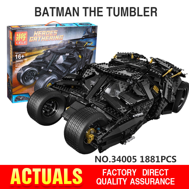 Decool  7111 Super Heroes Batman The Tumbler Block...