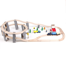 55pcs Thomas train Toy Diecasts Toy Vehicles Kids Toys  Model Cars electric puzzle Building slot track Rail transit