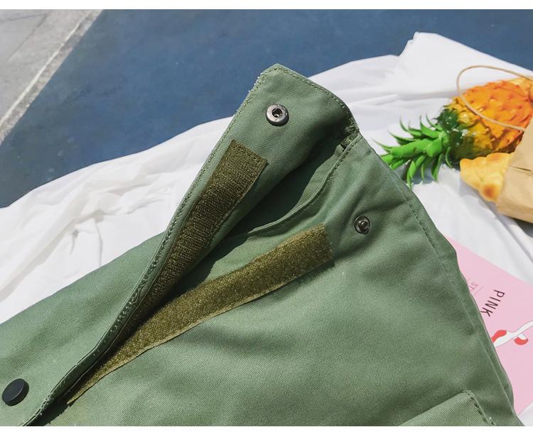 Menghuo Brand Female Women Canvas Backpack Preppy Style School Lady Girl Student School Laptop Bag Cotton Fabric bolsas00_34
