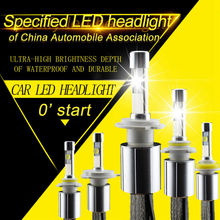 P70 LED Headlight XHP-70 chips 110W 13200LM 5000K 6000K Car Headlights H7 Conversion Kit H8 H9 H11 9005 9006 HB3 HB4 H4 Hi Lo(China)