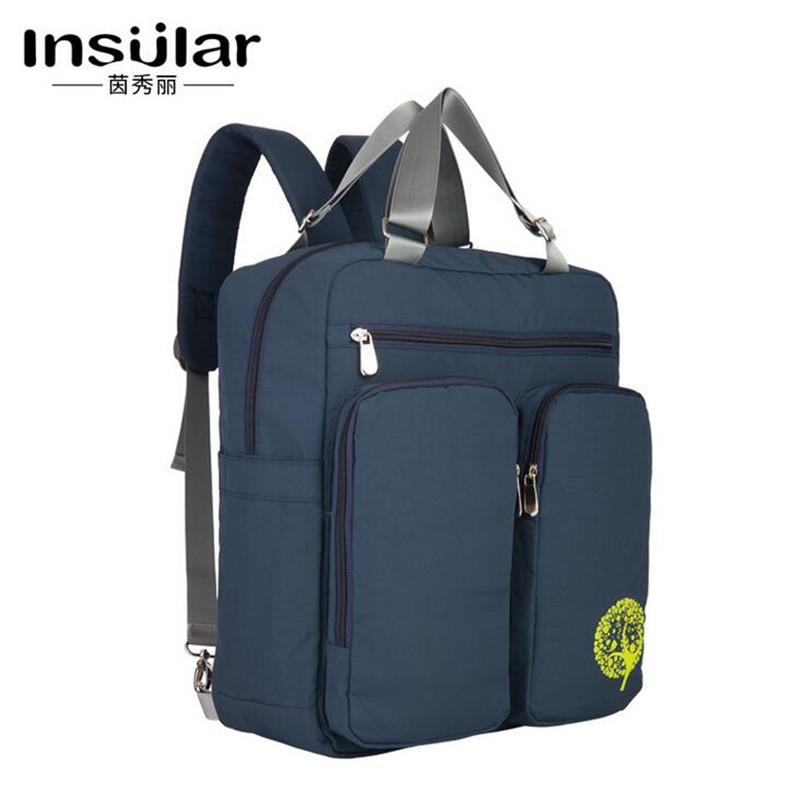 Insular Baby diaper bag backpack waterproof stroller bag for wheelchair pram Fashion mother maternity nappy changing bag<br>