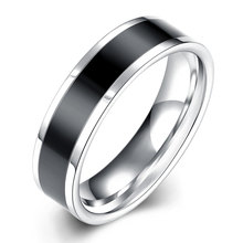 Ann & Snow 316L Stainless Steel Ring Couple Style Wedding Engagement Ring Fashion Wholesale Jewelry Supplier R020-A-8