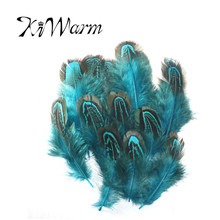 40PCS Excellent Beautiful 4-9cm Pheasant Wing Feathers For Wedding Decor Millinery Trimming Art Craft Dcoration