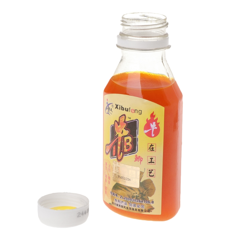 90ml Fishing Bait Artificial Lure Liquid Carp Flavor Additive Fishy Smell Bottle title=