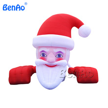 X031 5m Designed fashion promotion gift easter decoration Inflatable Christmas Santa Airblown Inflatable Christmas Cartoon(China)