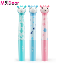 Children Music Ultrasonic Electric Toothbrush Child Waterproof Soft Bristle Kid Battery Operated Sonic Electronic Teeth Brush(China)