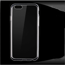 Top Selling Ultra-thin Clear Transparent Smart Phone House for iPhone 4 4S 7 7 Plus Soft Silicon TPU Back Cover Case Accessories