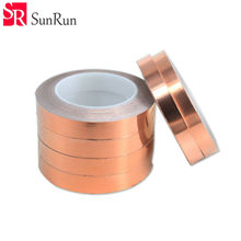 5pcs/lot Single Conductive Copper Foil Tape Strip 5MM X 30 M  Copper Foil Strip for Stained Glass Work