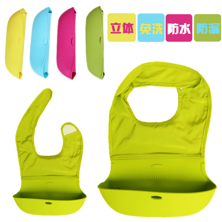 Aliexpress Com 2017 Waterproof Baby Bib Silicone Slabber Dribble Plastic Bibs For Babies Feeding Boy Scarf Children Infant Kerchief Babadores From
