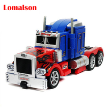 New Remote Control 2 in 1 Robot Car Toys Action Figures Robot Truck RC truck electronic Toys(China)