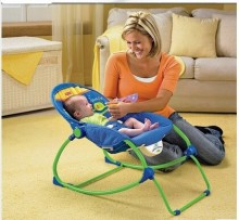 Fisher baby chair multifunction lounge chairs recliner rocking chair / cradle / baby bouncer / baby swing 3 color free shipping