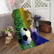 Storm Before The Calm Football High quality Bath Towels Soft Blanket Kids Colorfast