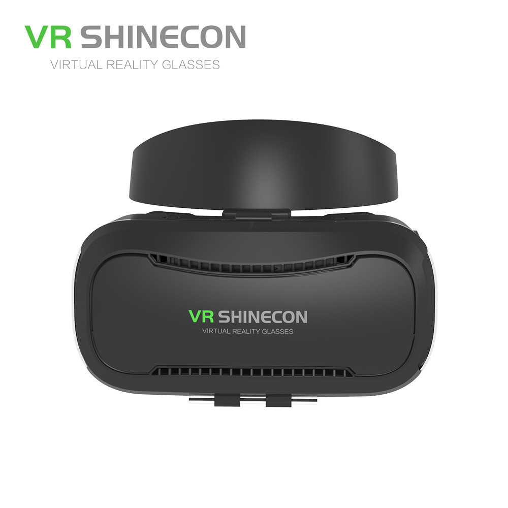 VR Shinecon VR Box with Headset Luxury VR Box With Bluetooth Controller For Android<br><br>Aliexpress