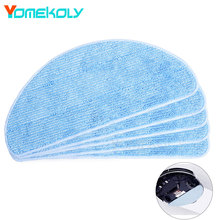 Buy 5PCS Blue Microfiber Cleaning Mop Ecovacs CEN540 Dibea X500 X580 KK8 CR120 CR121 MirrorS Vacuum Cleaner Sweeping Mop Cloths for $9.50 in AliExpress store
