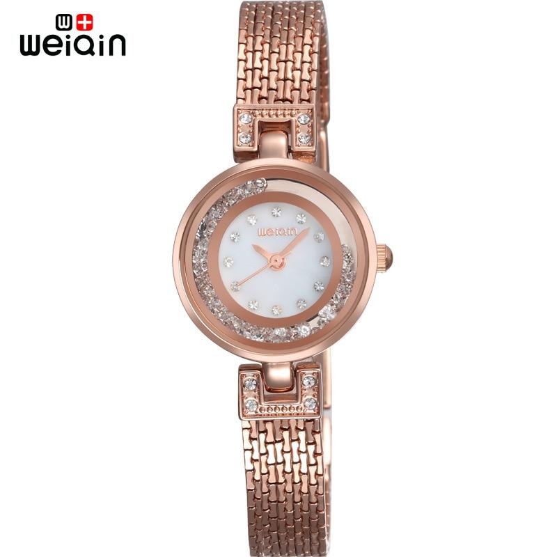 WEIQIN Fashion Date New Arrival Clock Women Travel Casual Crystal Diamond Woman Quartz-watch Business Elegant Reloj Mujer  2016<br><br>Aliexpress