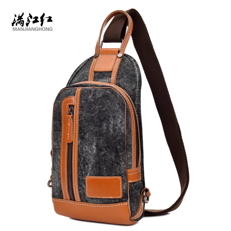 Famous Brand Bag Mini  Bags Man Casual Messenger Multifunctional Canvas Fashion Mens  Crossbody Shoulder Bag 1524<br><br>Aliexpress