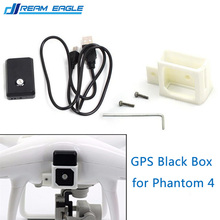 Phantom 4 GPS Black Box Locator with Mounting Bracket Holder Audio Video Position Feedback Lost & Found for DJI Phantom 4