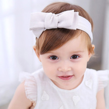 Buy 1 PC Girls Cute Headbands Striped Bowknot Hair Accessories Girls Hair Band clips kids flower bow knot bandage for $1.12 in AliExpress store